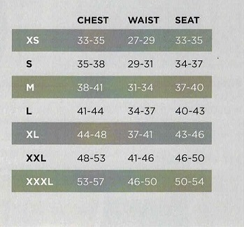 NB Mens Size Chart just sizes